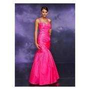 Wonderful Mermaid Scoop Satin Evening Dress with Floor Length