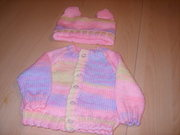 Home Hand Knitted Baby wear for sale,
