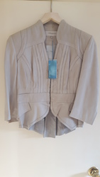 Karen Millen Leather Jacket 100% Genuine