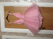 Beautiful new pink size 8 dress