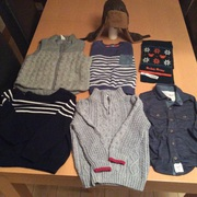 2-3year old boy winter jumpers and bodywarmer