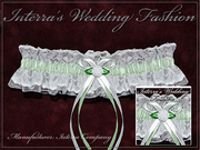 Manufacturer sells cheap wedding garters. Wedding collection 2011.